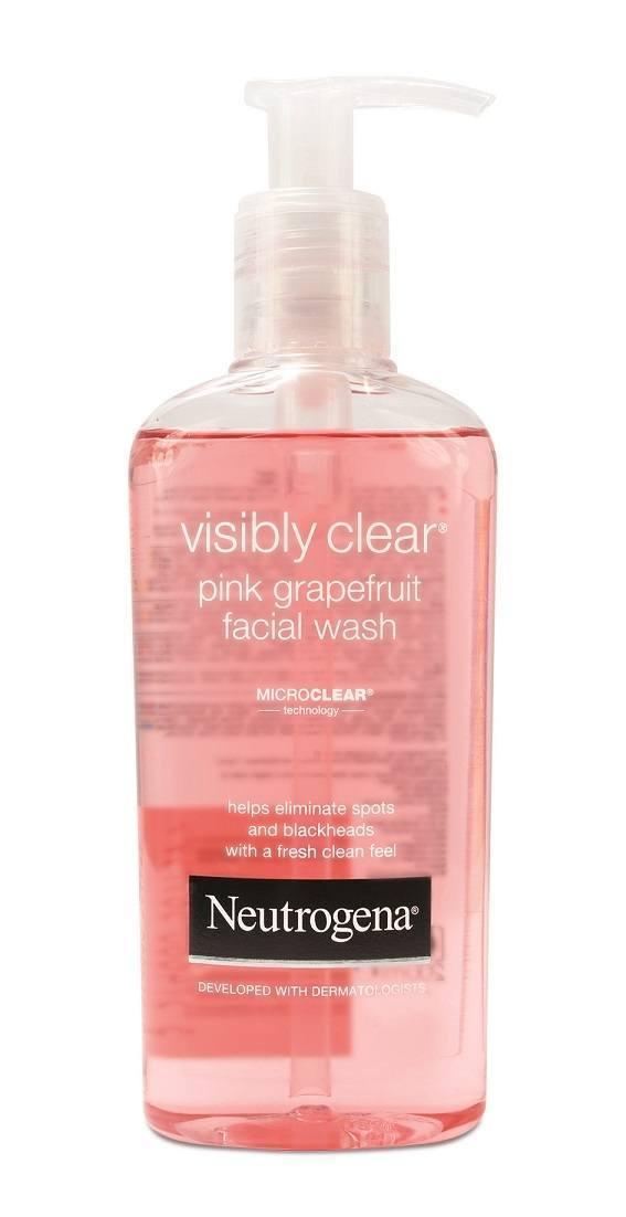 NEUTROGENA_VisiblyClear_PinkGrapefruit_zel_do_oczyszczenia_twarzy