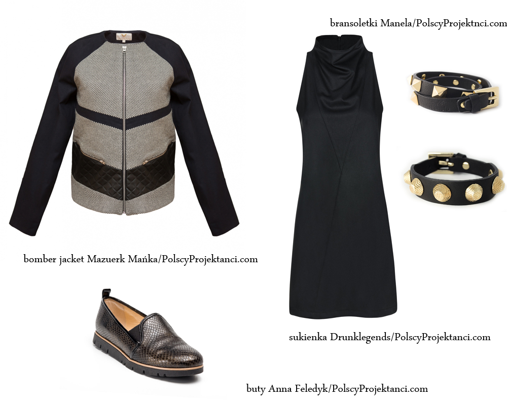 Moda Damska Stylizacje  Jak nosić bomber jacket?