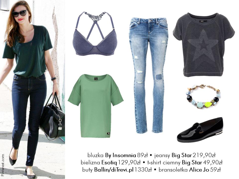 Jej styl Stylizacje  Jej styl - Miranda Kerr