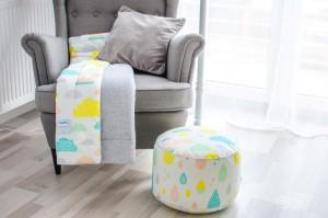 Design Moda dziecięca  Motyw przewodni w pokoju dziecięcym: Pastelowe chmurki