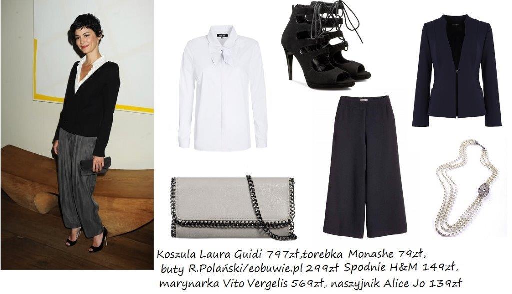 Moda Damska  W stylu gwiazdy : Audrey Tautou