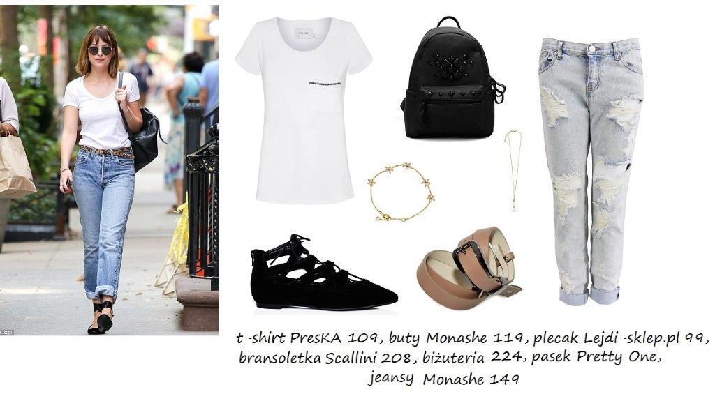 Moda Damska Stylizacje  W stylu Dakoty Johnson