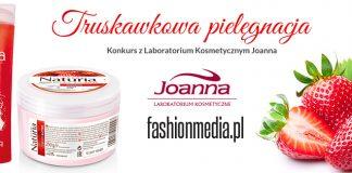 Truskawkowa pielęgnacja – konkurs z Laboratorium Kosmetycznym Joanna