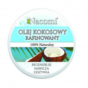 Kosmetyki Uroda  Olej kokosowy rafinowany – nacomi