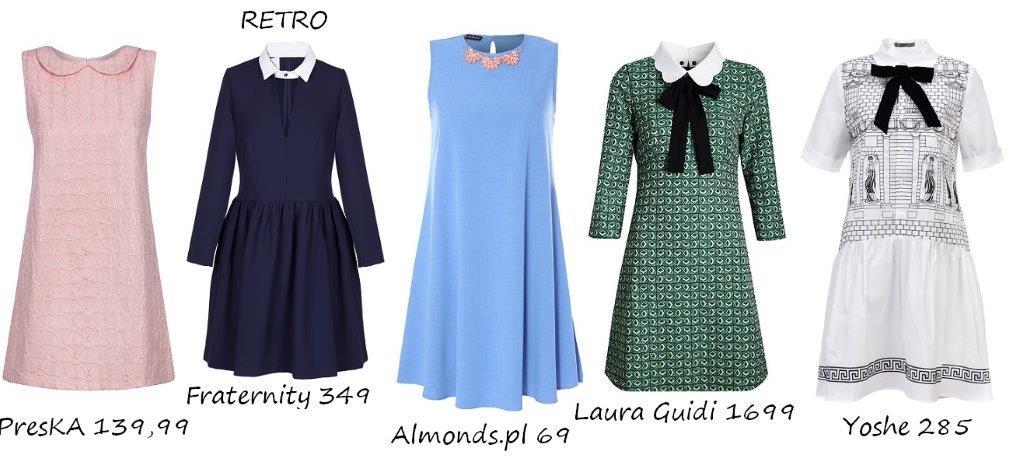 Moda Damska  Przegląd najmodniejszych sukienek na wiosnę