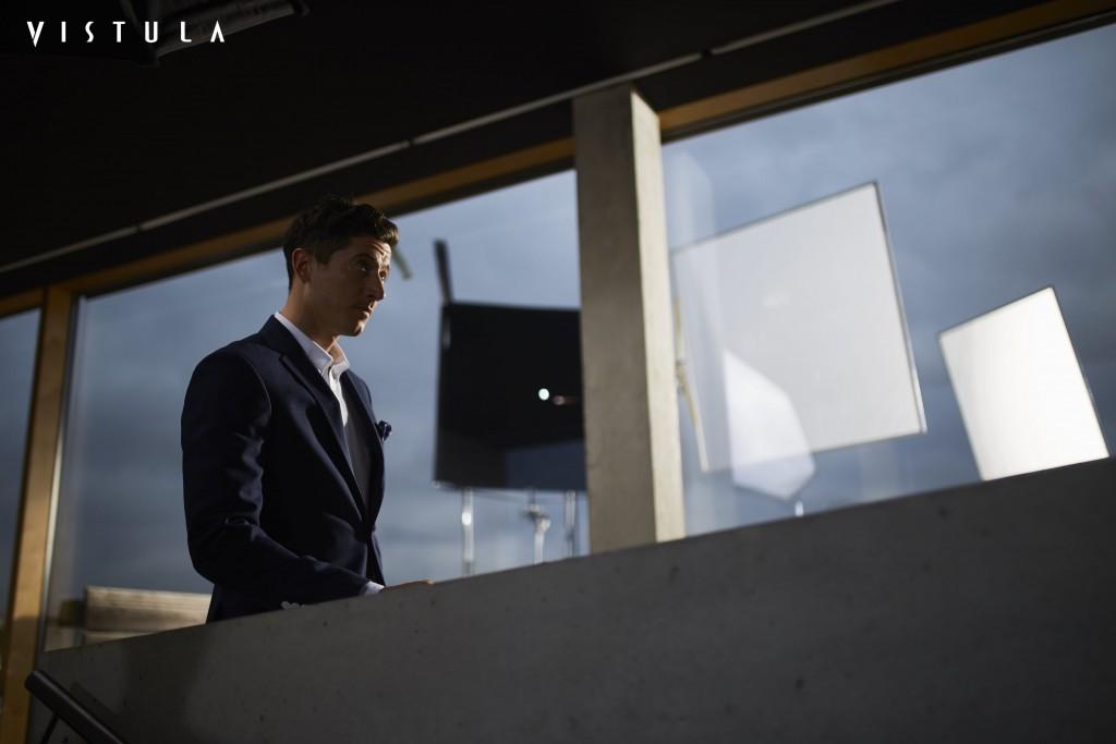 Moda Męska News  Robert Lewandowski ambasadorem marki Vistula