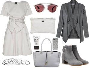 Moda Damska Stylizacje  Wiosenne okrycia wierzchnie