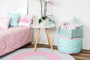 Design Moda dziecięca  Dziewczęcy pokój córki Kamili Szczawińskiej