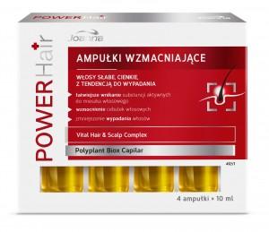 Włosy  Power Hair ampułki − laboratorium kosmetyczne Joanna