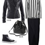 Moda Damska  Czarno-biały minimalizm w nowej kolekcji bonprix