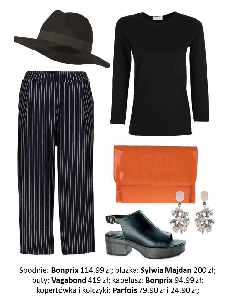 Moda Damska Stylizacje  Jak nosić czerń wiosną