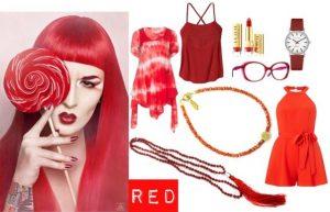 Stylizacje  Biżuteria modowa - zaszalej z kolorem