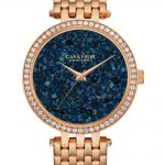 Biżuteria  Błysk i splendor Kryształowa kolekcja zegarków Caravelle