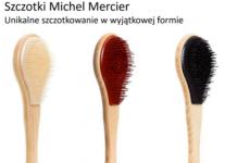 Michel Mercier Elegancka z drewnianym designem