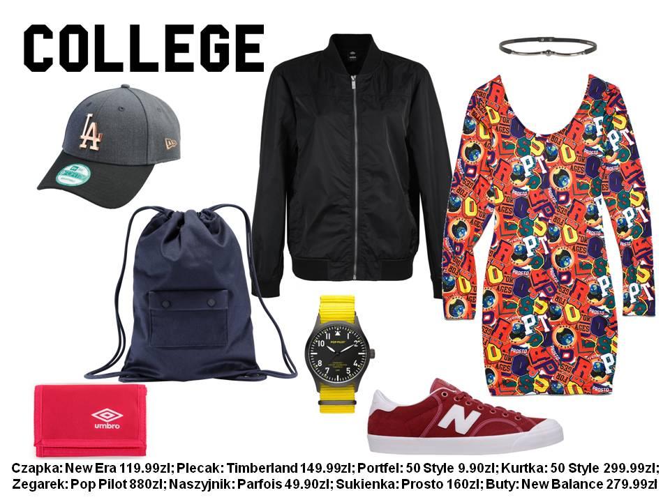 Stylizacje  To jest na topie – College Style!