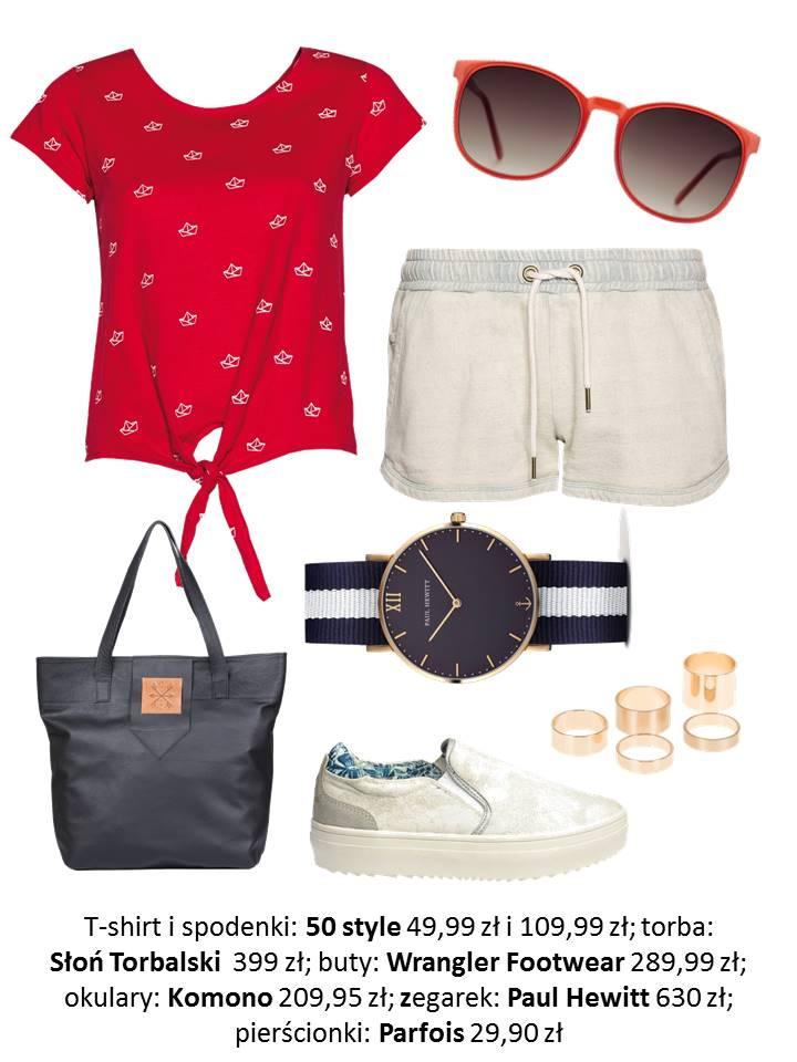 Letni trend, styl marynarski