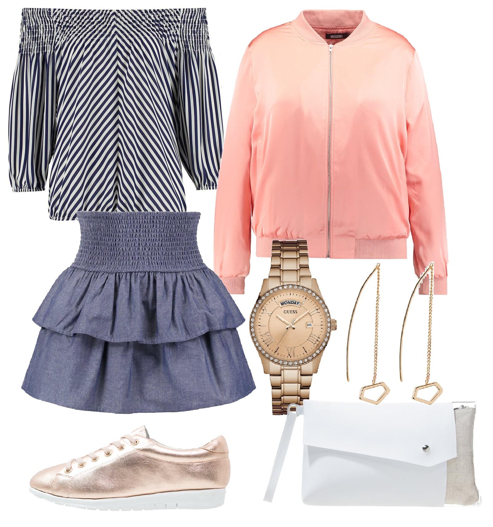 Stylizacje  Wygodnie, modnie i gustownie. 10 wiosennych stylizacji z tenisówkami
