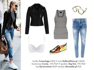 Jej styl Stylizacje  Jej styl – Gigi Hadid