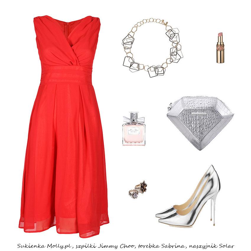 Stylizacje  Sukienki na wesele - stylizacje
