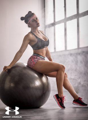 Moda Damska  Trening dobrze doBRAny.  Kolekcja treningowa od Under Armour wyłącznie dla kobiet.