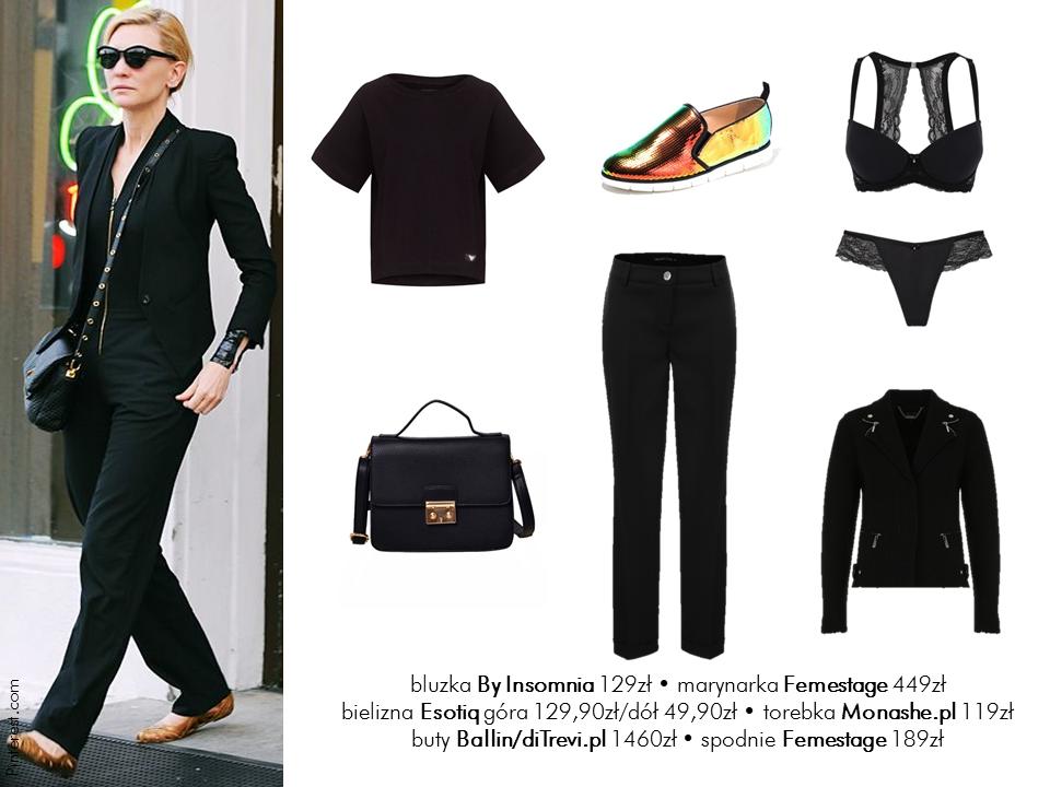 Jej styl Stylizacje  Jej styl - Cate Blanchett