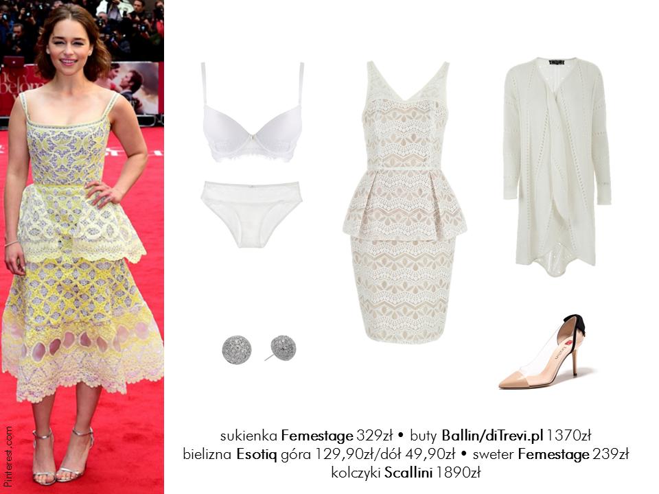 Jej styl Stylizacje  Jej styl – Emilia Clarke