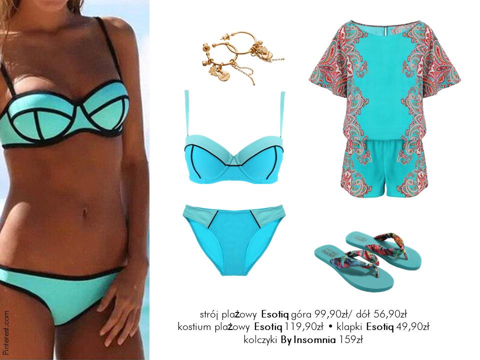 MODA PLAŻOWA Stylizacje  W pełnym słońcu – stylizacje na plażę