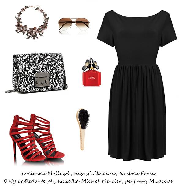 Stylizacje  Sukienki midi na lato