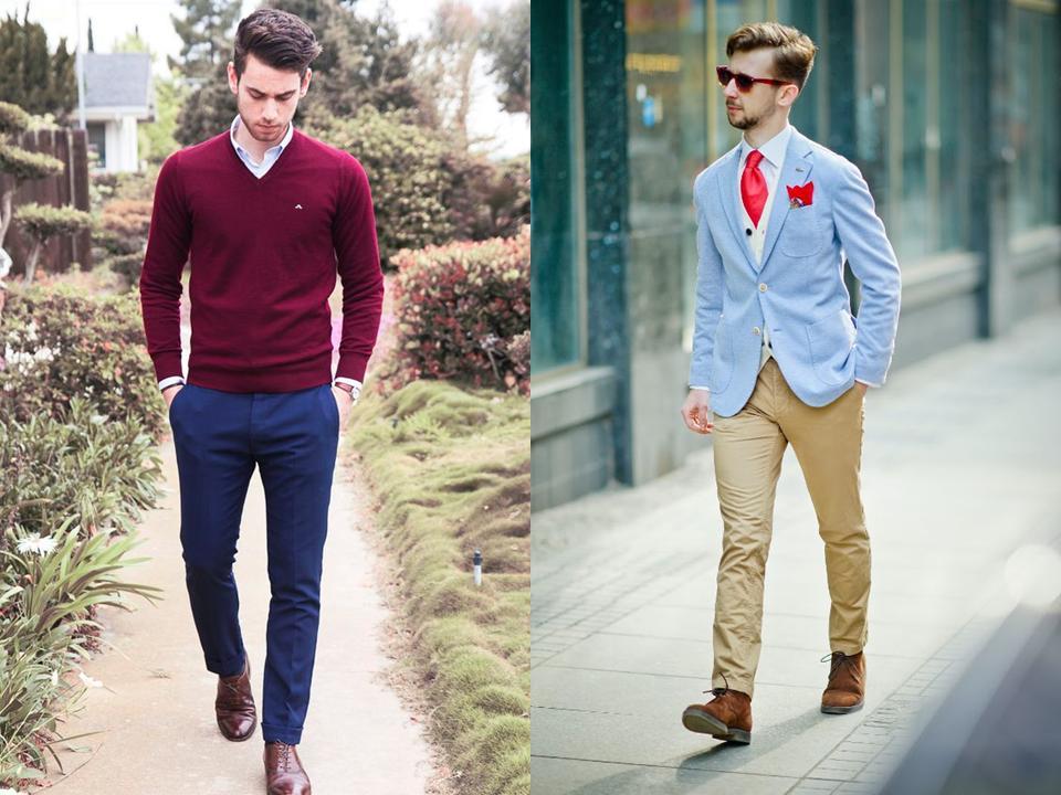Moda Męska  Lato w oksfordzkim stylu
