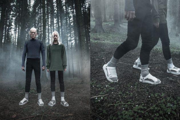 OBUWIE MĘSKIE  Limitowana kolekcja Teva & Han Kjøbenhavn