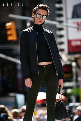 Moda Damska TRENDY JESIEŃ-ZIMA 2016  Lookbook MOHITO New York City Vibes Jesień-Zima 2016/2017