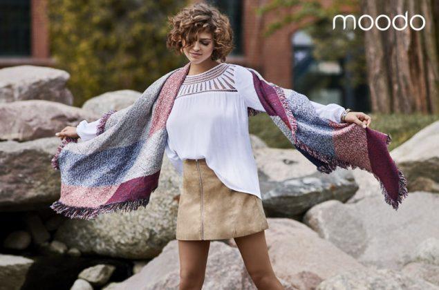 Moda Damska  Jesień w stylu boho- najnowsza kolekcja MOODO jesień/zima 2016