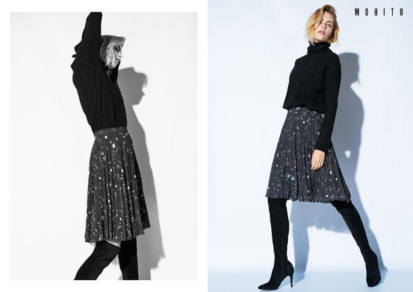 Moda Damska  Trzy trendy w zimowym lookbooku MOHITO
