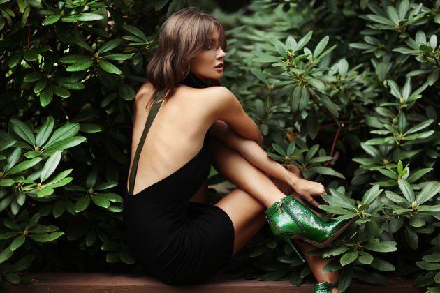 """Moda Damska  Kolekcja Gosi Strojek """"Green Leaves"""" na sezon AW 16/17"""
