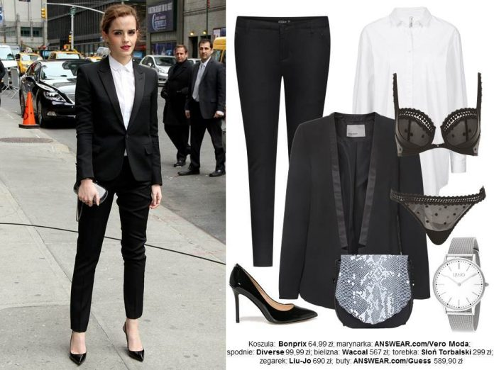 Emma Watson Stylizacje