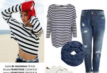 W marynarskim stylu - stylizacje