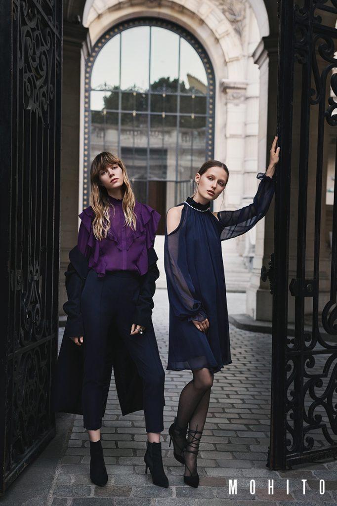 Kampania marki MOHITO na sezon jesień-zima 2017/2018 Girls in Paris