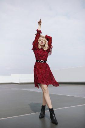 Moda Damska  Irina Zhirova w jesiennej odsłonie kolekcji MOHITO