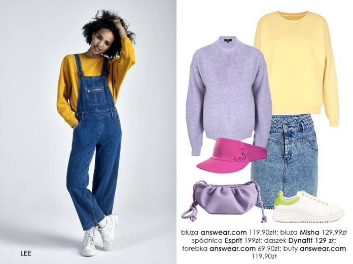 Wiosenne stylizacje pełne kolorów