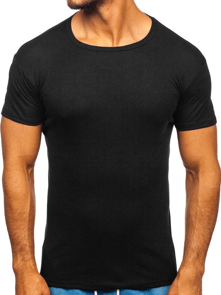 Moda Męska  Czarne koszulki męskie to HIT. Zobacz najlepsze wzory!