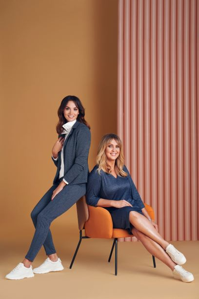 Moda Damska  Ewa Wachowicz i Paulina Krupińska-Karpiel w kolejnej sesji zdjęciowej dla marki QUIOSQUE