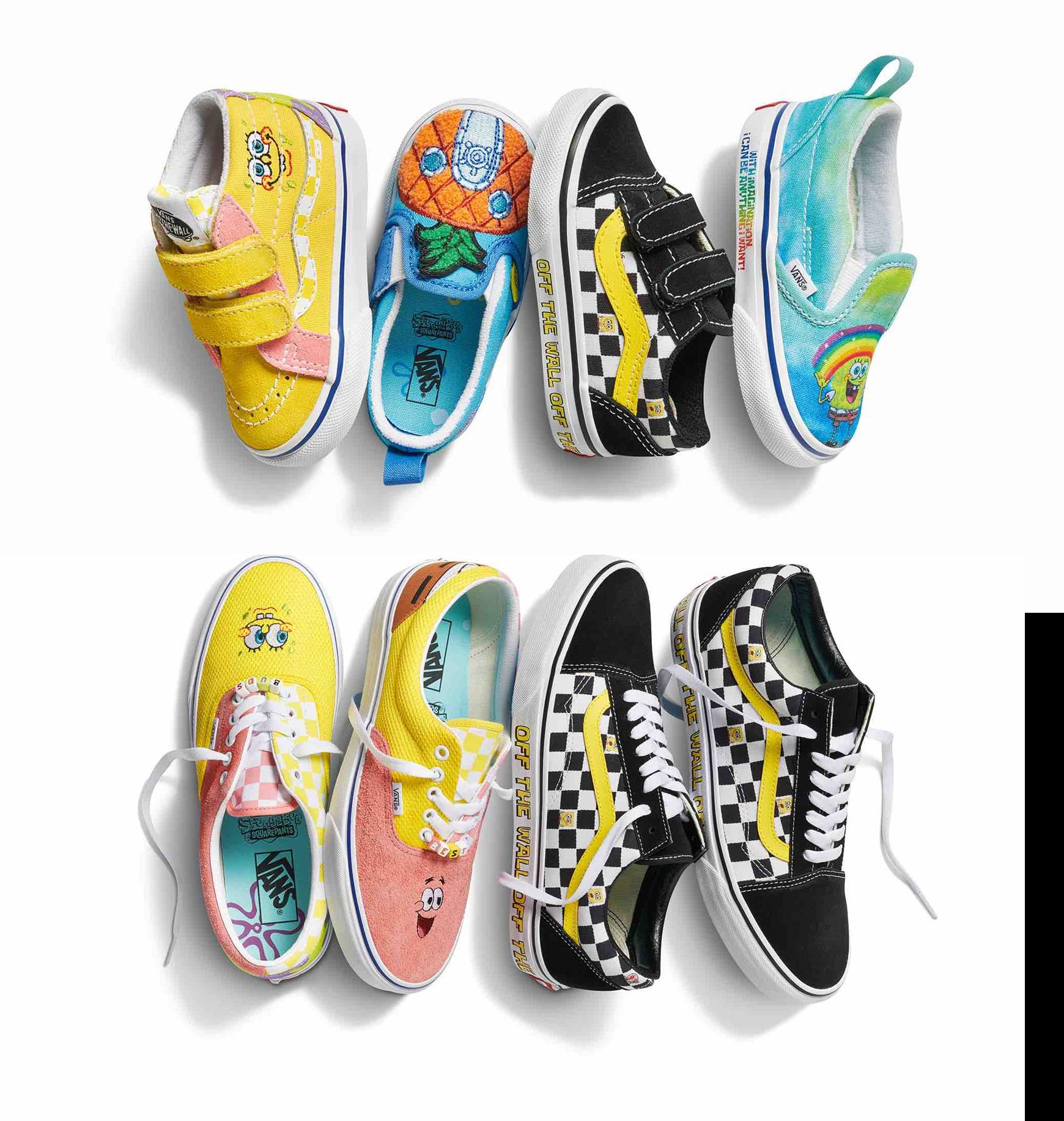 Akcesoria Buty  Vans i Nickelodeon w najnowszej kolekcji z motywami ze świata SpongeBoba Kanciastoportego