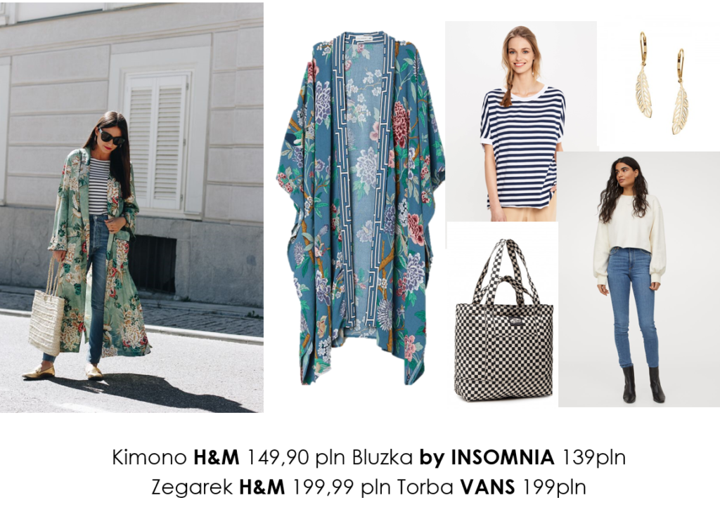 Stylizacje  Kimonowa alternatywa/ stylizacje