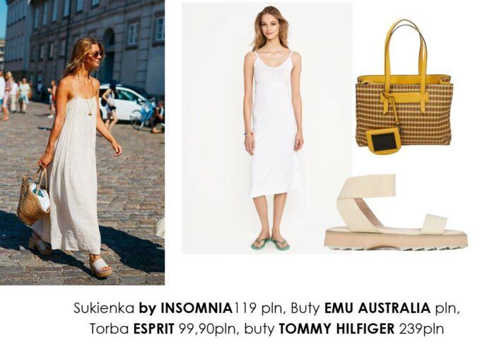 Lato w białej sukience – stylizacje (4)