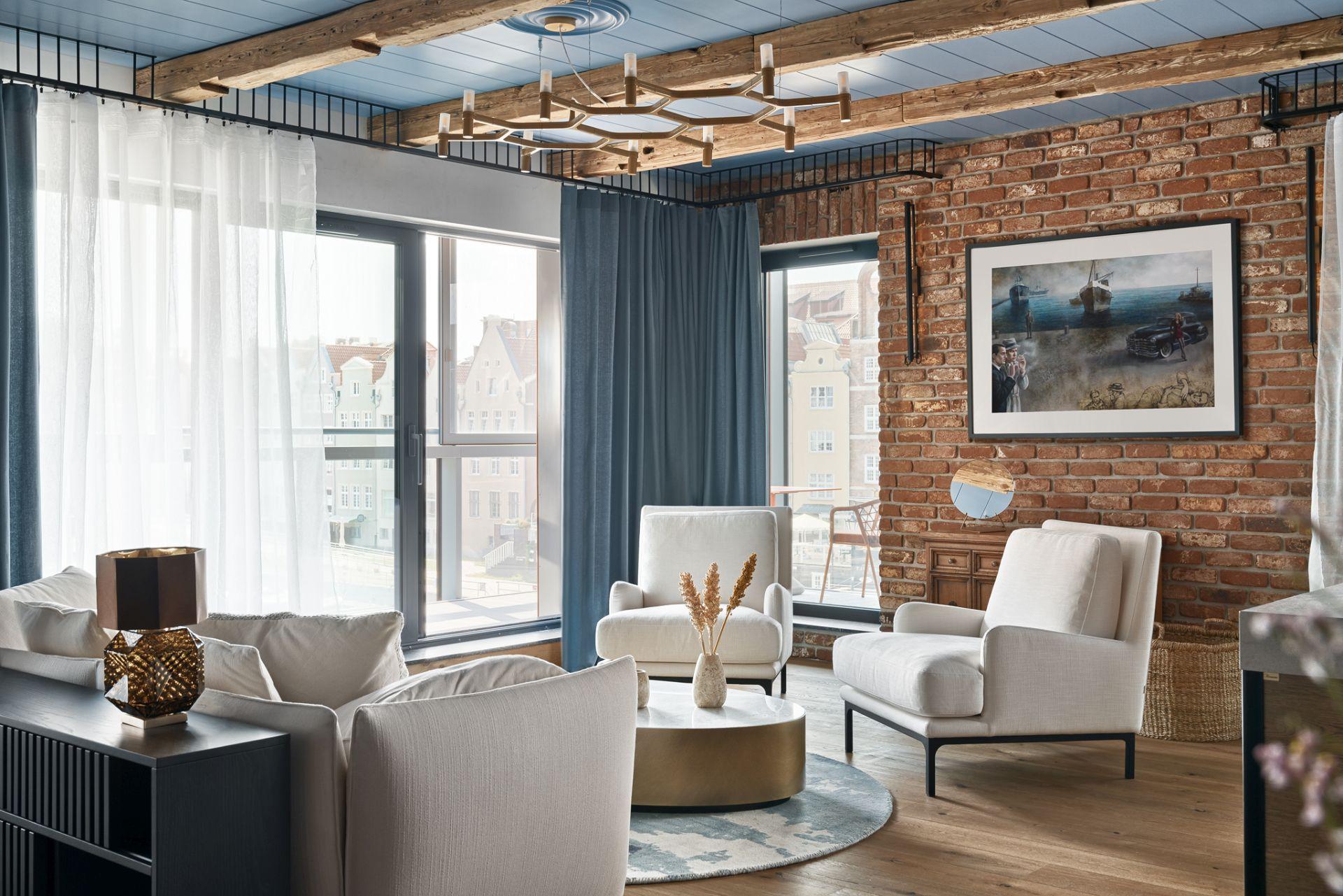architektura Design Meble  Nowy styl gdański. Realizacja nadmorskiego apartamentu według projektu Jana Sikory